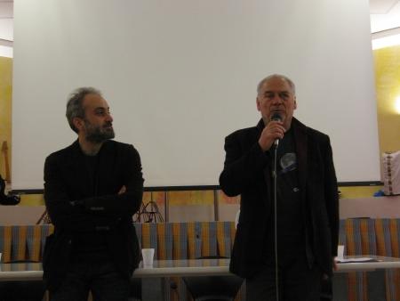 L'attore Giorgio Colangeli